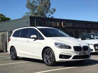 2017 BMW 2 SERIES 1.5 216D SPORT GRAN TOURER 5d AUTO 114 BHP £18990.00