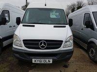 USED 2011 61 MERCEDES-BENZ SPRINTER 2.1 313 CDI LWB 1d 129 BHP READY FOR WORK