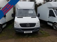 USED 2011 11 MERCEDES-BENZ SPRINTER 2.1 313 CDI LWB 1d 129 BHP TAIL LIFT .... VERY CLEAN CONDITION FIRST TO SEE WILL BUY