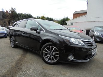 2014 TOYOTA AVENSIS 2.0 D-4D ICON 5d 124 BHP £9750.00