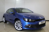 USED 2011 11 VOLKSWAGEN SCIROCCO 2.0 GT TDI BLUEMOTION TECHNOLOGY 2DR 140 BHP SAT NAVIGATION + AIR CONDITIONING + MULTI FUNCTION WHEEL + PARKING SENSOR + AUXILAIRY PORT + RADIO/CD + ELECTRIC WINDOWS + ALLOY WHEELS