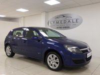 2006 VAUXHALL ASTRA 1.6 ACTIVE 16V TWINPORT 5d 100 BHP £2195.00