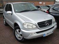 2003 MERCEDES-BENZ M CLASS 2.7 ML270 CDI 5d AUTO 163 BHP £2750.00