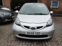 USED 2008 58 TOYOTA AYGO 1.0 PLATINUM VVT-I 5d 68 BHP ANY PART EXCHANGE WELCOME, COUNTRY WIDE DELIVERY ARRANGED, HUGE SPEC
