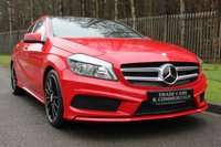 2014 MERCEDES-BENZ A CLASS 2.1 A220 CDI BLUEEFFICIENCY AMG SPORT 5d AUTO 170 BHP £15000.00