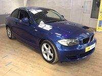 2011 BMW 1 SERIES 2.0 120I SPORT 2d AUTO 168 BHP £6295.00