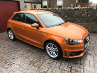 USED 2012 62 AUDI A1 1.6 SPORTBACK TDI S LINE 5d 105 BHP FULL SERVICE HISTORY / ZERO ROAD TAX / TIMING BELT AND WATER PUMP RECENTLY REPLACED