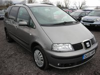 2005 SEAT ALHAMBRA 1.9 REFERENCE TDI 5d 114 BHP £2000.00