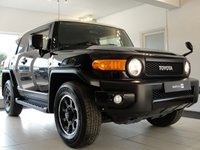 USED 2016 16 TOYOTA FJ CRUISER 4L V6 PETROL 4x4 AUTOMATIC SUV -  5 Black FJ's Available 2015/ 2016 Call Us To Discuss Your Ideal FJ Cruiser.....Fantastic 4x4 4L V6 Petrol Automatic with Lots of Options. We have 7 of these in the UK just registered, Serviced at Toyota and tested.