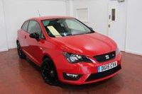 2015 SEAT IBIZA 1.2 TSI FR BLACK 3d 104 BHP £8995.00