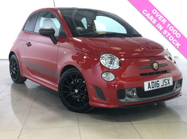 View our 2016 16 ABARTH 500 1.4 595 COMPETIZIONE 3d 177 BHP