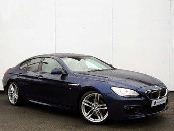2014 BMW 6 SERIES 3.0 640D M SPORT GRAN COUPE 4d AUTO 309 BHP £22000.00