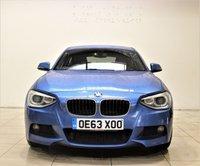 USED 2013 63 BMW 1 SERIES 2.0 125D M SPORT 3d 215 BHP + 2 PREV OWNER + AIR CON + AUX + BLUETOOTH