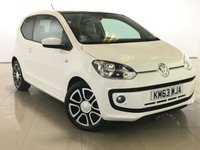 USED 2013 63 VOLKSWAGEN UP 1.0 HIGH UP BLUEMOTION TECHNOLOGY 3d 74 BHP Panoramic Roof/Sat Nav