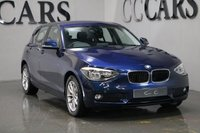 USED 2014 14 BMW 1 SERIES 1.6 116I SE 5d 135 BHP BLUETOOTH TELEPHONE CONNECTIVITY, CRUISE CONTROL, 16 INCH ALLOY WHEELS, LEATHER MULTI FUNCTION STEERING WHEEL, ON-BOARD COMPUTER