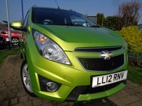 USED 2012 12 CHEVROLET SPARK 1.2 LT 5d 80 BHP **Low Mileage £30 Tax 12 Months Mot**