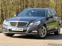 USED 2010 10 MERCEDES-BENZ E CLASS 2.1 E220 CDI BLUEEFFICIENCY AVANTGARDE 5d AUTO 170 BHP