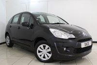 USED 2010 10 CITROEN C3 1.1 VT 5DR 60 BHP AIR CONDITIONING + RADIO/CD + AUXILIARY PORT + ELECTRIC WINDOWS + ELECTRIC MIRRORS
