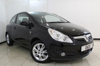 USED 2010 10 VAUXHALL CORSA 1.2 SE 3DR 83 BHP FULL SERVICE HISTORY + HEATED HALF LEATHER SEATS + CRUISE CONTROL + MULTI FUNCTION WHEEL + AIR CONDITIONING + 16 INCH ALLOY WHEELS