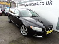 USED 2010 10 VOLVO V70 2.0 D R-DESIGN SE 5d 136 BHP Full Service History+Full Leather+6 Speed Gearbox