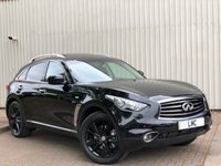 USED 2014 64 INFINITI QX70 3.0 GT D 5DR AUTO 235 BHP STUNNING 4X4 + LOOKS AMAZING + FULLY LOADED