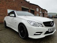 2012 MERCEDES-BENZ E CLASS 3.0 E350 CDI BLUEEFFICIENCY SPORT  £15295.00