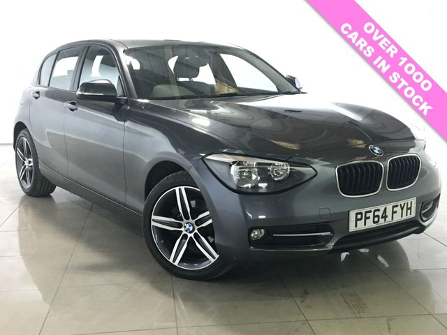 View our 2015 64 BMW 1 SERIES 2.0 116D SPORT 5d 114 BHP