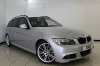 USED 2009 09 BMW 3 SERIES 2.0 318I M SPORT TOURING 5DR 141 BHP CLIMATE CONTROL + PARKING SENSOR + CRUISE CONTROL + MULTI FUNCTION WHEEL + 17 INCH ALLOY WHEELS