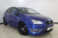 USED 2006 06 FORD FOCUS 2.5 ST-2 5DR 225 BHP SERVICE HISTORY + RECARO SPORT SEATS + AIR CONDITIONING + RADIO/CD + 18 INCH ALLOY WHEELS