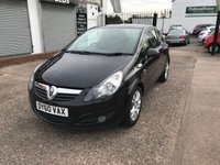 USED 2010 60 VAUXHALL CORSA 1.2 SXI A/C 3d 83 BHP JUST ARRIVED  low Mileage-Service History-Alloy Wheels