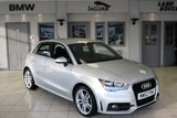 USED 2013 62 AUDI A1 2.0 SPORTBACK TDI S LINE 5d 141 BHP FULL SERVICE HISTORY + HALF LEATHER SEATS + £20 ROAD TAX + BLUETOOTH + 17 INCH ALLOYS + SPORT CHASSIS + AIR CONDITIONING + ELECTRIC WINDOWS