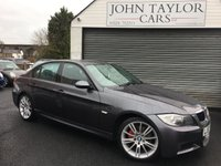 2007 BMW 3 SERIES 2.0 318I M SPORT 4d 128 BHP, SUPERB EXAMPLE THROUGHOUT  £SOLD