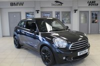 USED 2015 15 MINI PACEMAN 1.6 COOPER D ALL4 3d 112 BHP FULL LEATHER SEATS + FULL SERVICE HISTORY + BLUETOOTH + DAB RADIO + REAR PARKING SENSORS + 17 INCH ALLOYS