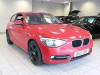 2013 BMW 1 SERIES 116D 2.0 SPORT 3d £8485.00