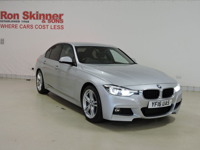 View our 2016 16 BMW 3 SERIES 2.0 320D M SPORT 4d AUTO 188 BHP with BMW Pro Media Pack + Enhanced Bluetooth
