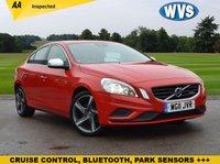 2011 VOLVO S60 1.6 T3 R-DESIGN 4d 148 BHP £7499.00