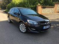 2014 VAUXHALL ASTRA 1.6 ELITE 5d AUTO 113 BHP PLEASE CALL TO VIEW £8450.00