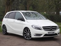 USED 2014 14 MERCEDES-BENZ B CLASS 1.8 B200 CDI BLUEEFFICIENCY SPORT 5d AUTO 136 BHP £189 PCM With £1099 Deposit