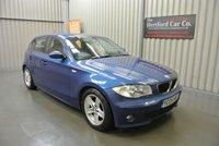 2005 BMW 1 SERIES 2.0 118I SPORT 5d 128 BHP £3995.00