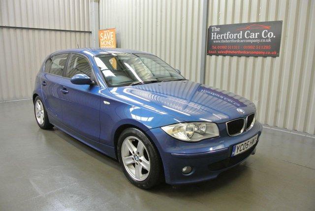 2005 05 BMW 1 SERIES 2.0 118I SPORT 5d 128 BHP