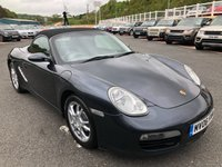 USED 2006 06 PORSCHE BOXSTER 2.7 24V 2d 240 BHP Grey full leather, A/C & wind deflector