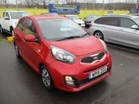 USED 2015 15 KIA PICANTO 1.0 VR7 5d 68 BHP GREAT VALUE KIA PICANTO WITH LOVELY SPEC !!