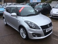 USED 2013 63 SUZUKI SWIFT 1.6 SPORT 5d 136 BHP VERY CLEAN EXAMPLE WITH FULL SERVICE HISTORY