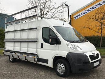 2014 PEUGEOT BOXER 2.2 HDI 335 L3H2 # FRAIL GLASS RACK # PROFESSIONAL 130 Van Free UK Delivery £9950.00