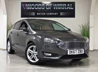 2017 FORD FOCUS 1.0 ZETEC EDITION 5d 124 BHP £13980.00