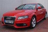 2009 AUDI A4 2.0 TDI S LINE 4d 141 BHP £7995.00