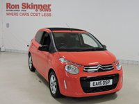 USED 2015 15 CITROEN C1 1.0 AIRSCAPE FLAIR S/S 5d 68 BHP