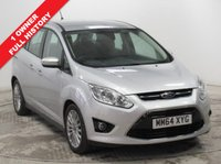 USED 2015 64 FORD GRAND C-MAX 1.6 TITANIUM TDCI 5d 114 BHP ***1 Owner, Full Service History, RAC Warranty, RAC Breakdown Cover, Parking Sensors, Bluetooth, Cruise Control, Leather Multi functional Steering Wheel, Air Conditioning, 7 Seats***