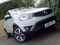 2014 SSANGYONG KORANDO 2.0 60TH ANNIVERSARY 5d AUTO 175 BHP £11499.00