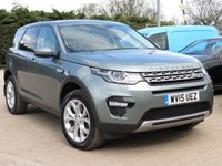 USED 2015 15 LAND ROVER DISCOVERY SPORT 2.2 SD4 HSE 5d AUTO 190 BHP AUTOMATIC, PANORAMIC ROOF + SATELLITE NAVIGATION